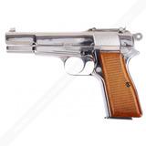 Pistola Airsoft Browning Cromada 6 Mm Metal- Blowback.