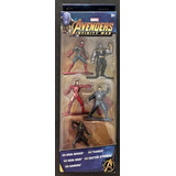 Marvel Infinity War Nano Metalfigs Paquete De 5