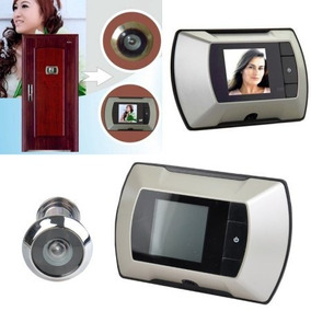 Hodmox 2.4 Wide Angle Electronic Home Door Cat Eye Doorbell