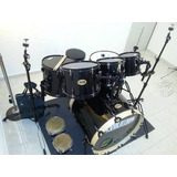 Bateria Evolution Panther 6 Pz Negra Meses Sin Intereses