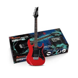 Combo Guitarra Electrica Ibanez Profesional Ijrx20n Negr/roj