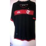 Camisa Flamengo Preta Olympikus 2011 Uniforme 3 Raridade. c2d3fc873e9ec