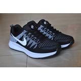 Kp3 Zapatos Deportivo Nike Air Thea Zoom Negro Blanco Damas