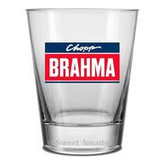12 Copos Old Fashion 220ml Brahma Chopp Cerveja Sweet Amado