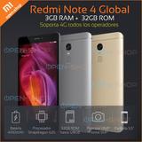 Xiaomi Redmi Note 4 Global 32gb 3gb Ram 4g Lte Garantia