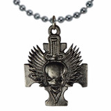 Call Of Duty Dije Collar Cruz Calavera Incluye Cadena