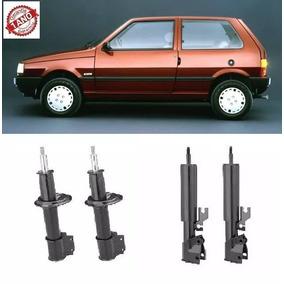 4 Amortecedores Fiat Uno 2006 2007 2008 2009 2010 Remanufatu