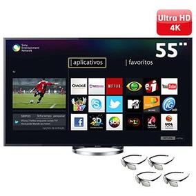 Smart Tv 3d Led 55 Sony Xbr-55x855a 4k - 4 Hdmi, 3usb