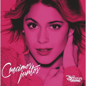 Violetta Crecimos Juntos Disco Cd Con 11 Canciones