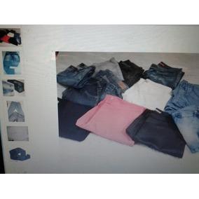 Calças Shortes E Blusas E Bermudas Feminino 46/42 Usad