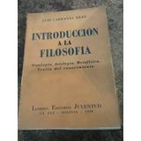 Introduccion A La Filosofia De Luis Carranza Siles