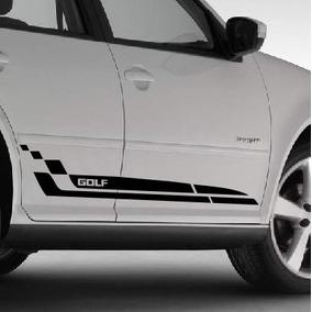 Adesivo Faixa Lateral Tuning M1 Porta Carro Volkswagen Golf