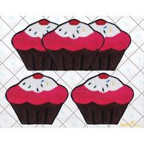 Jogo De Cozinha Cupcakes - Frufru