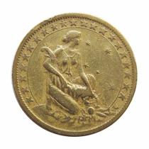 Moeda 1000 Réis 1925 - Símbolo Da Fortuna