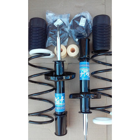 Amortecedores+molas+kit Batentes Dianteiros Do Ford Ka (par)