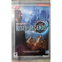 Juego Computadora O Pc Rise Of Legends Original