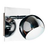 Aplique Baño Luz Pared Cromo Bocha Apto Led Diseño Espejo