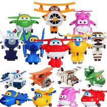 Super Wings Discovery Kids Kit Todos 8 Aviões - Pta. Entrega