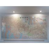 Mapa Gigante De Quito Decoracion Agencia De Turismo Oficina