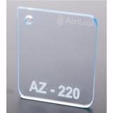Chapa Placa De Acrílico Azul 100cm X 200cm Esp. 2mm Az-220