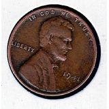 Moneda Rara 1centavo Americano~lincoln 1941~one Us Cent