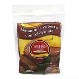 Bananada Com Cobertura De Chocolate Tachão De Ubatuba 200gx5