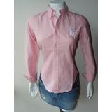 Camisa Algodon Oxford Ralph Lauren Talla M Mujer