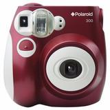 Cámara Digital Instantánea Polaroid Pic-300 Roja Envio