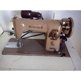 Maquina De Costura Singer Antiga 1965 Com Manual
