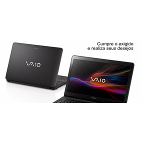 Notebook Sony Vaio Fit Svf15213cbb I5-3337u Mostruário