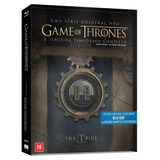 Blu-ray Game Of Thrones - Terceira Temporada (5 Bds + Brasã