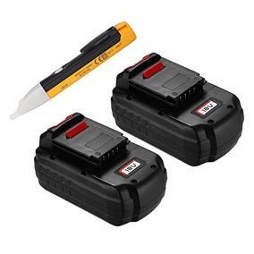 Batería De Repuesto Powerextra 18v 3.0ah, 2u, P/cable Porter