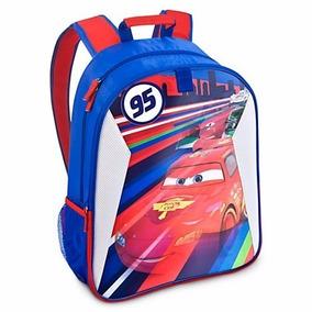 8a31e05ce Mochila Tipo Maleta Cars 2 Rayo Mcqueen Disney Original Daa en ...