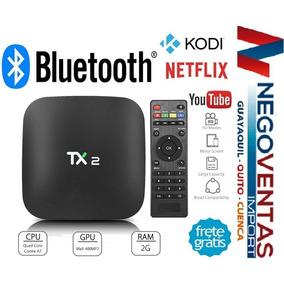 Tv Box Tx2 2gb Ram 16gb Memoria Interna Bluetooh Mirrowlink