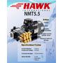 Hidrolavadora Industrial Hawk Trifasica 5.5hp 2500 Psi