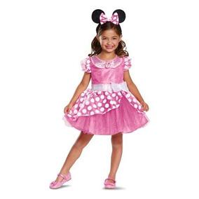 2018 Disfraz 2 Años Minnie Mouse Mimi Niña Vestido Rosa