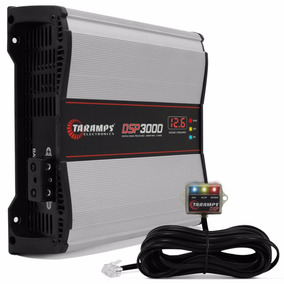 Amplificador Taramps Dsp 3000 3000w Rms Modulo Potencia Som