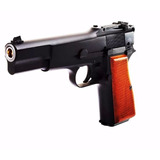 Pistola We Browning Negra 6 Mm - Metal - Airsoft - Blowback