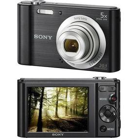 Câmera Digital Sony W800 20.1mp 5x Zoom Foto Panorâmica