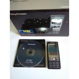 Celular Sony Ericsson K790a + Caja Original, Para Reparar.
