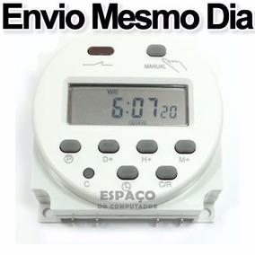 Timer Temporizador Digital 220v Programável 17 Liga Desliga