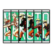 Naruto Poster 60x84cm Anime Mangá - Para Decorar Sala Parede