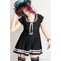 ¿¿¿vestido Pin Up, Navy, Marinero Modelo Sailor Lollipop ¿¿¿