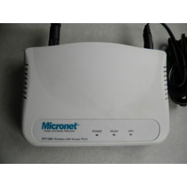 Access Point Micronet Sp918bk , Wireless Lan