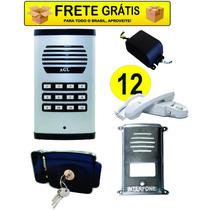 Kit Coletivo 12 Pontos+ 12 Fones+ Fechadura Tetra + Protetor