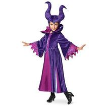 Disfraz Malefica Niñas Disney Store Traje Los Descendientes