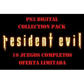 Residen Evil Collection Pack 10 Juegos Ps3 Español Psn