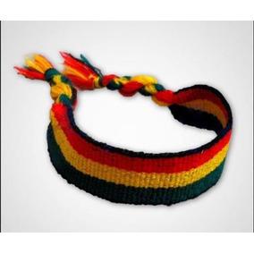 12 Pulseiras Tornozeleira Reggae - Bob Marley