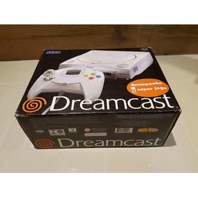 Sega Dreamcast Zerado Na Caixa