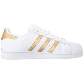 a462f08ac58e8 Stp Dourado Adidas - Tênis para Feminino Branco no Mercado Livre Brasil